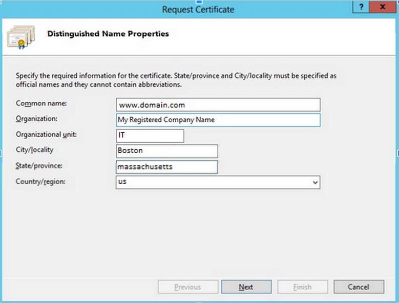 Csr Instructions For Windows Azure