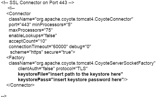 How to Move SSL certificate from Apache to Tomcat