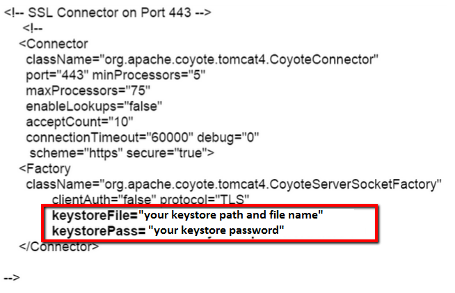 How to move SSL certificate from Tomcat to Tomcat