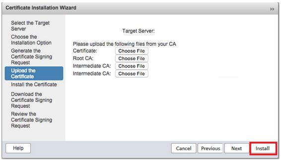 SSL Installation Instructions for Zimbra