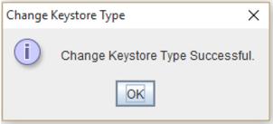 portecle change keystore