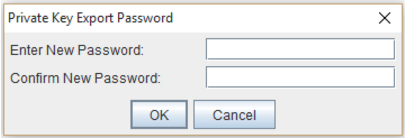 portecle password