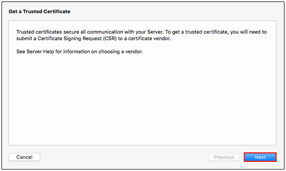 Certificate Signing Request (CSR) Instructions for Apple Mac OS X 10.11