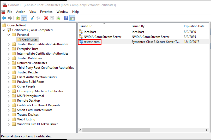 Troubleshooting Missing Ssl Private Key In Windows Server