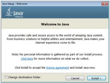 Java Installer