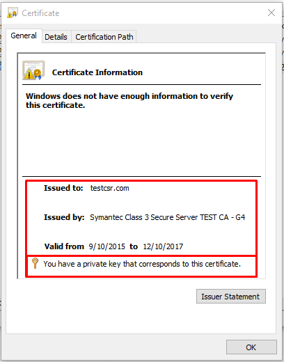 Troubleshooting: Missing SSL Private Key in Windows Server.