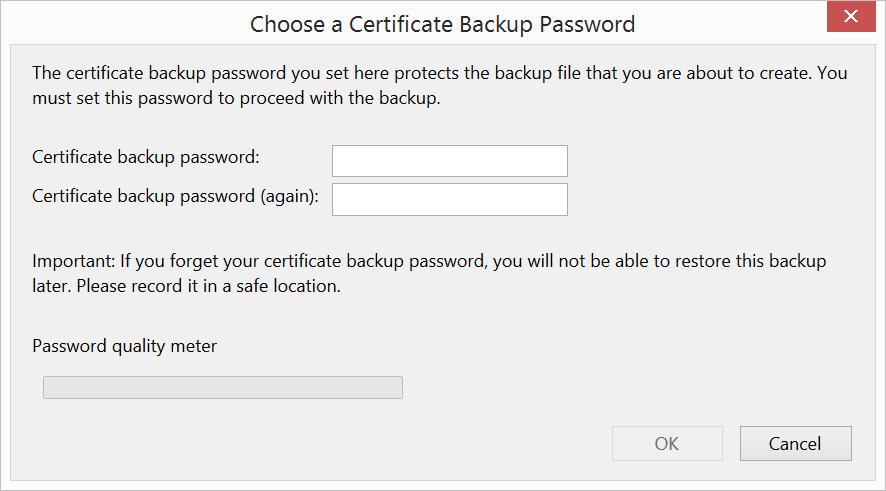 Firefox Cert Password Ssl Support Desk