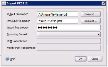 PFX to PEM citrix converter tool