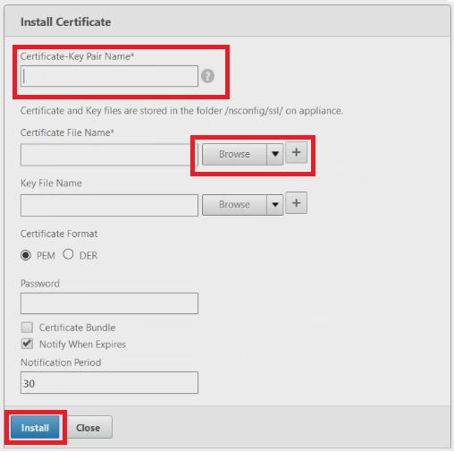 NetScaler intermediate Install