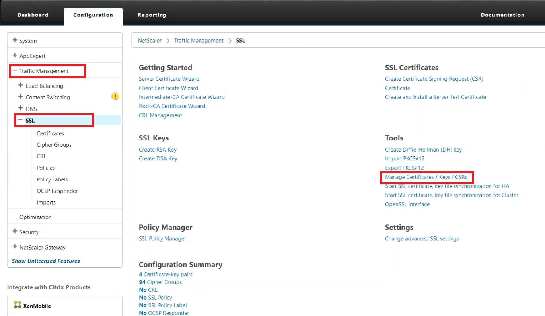 Citrix netscaler vpx 10 loadbalancer ssl installation netscaler manage certificates 1betcityfo Images