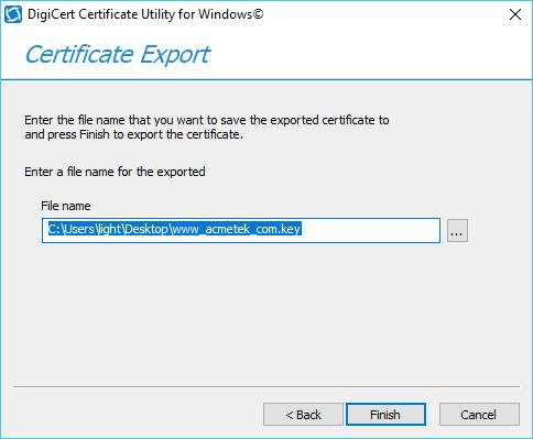 Digicert Certificate Utility - SSL Certificate (Guide) -