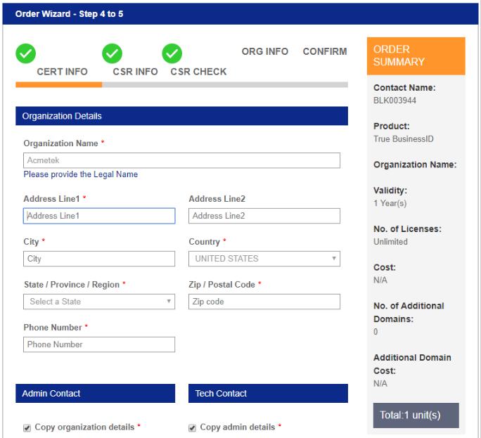 SSL Partner Center: How To Process New Certificate